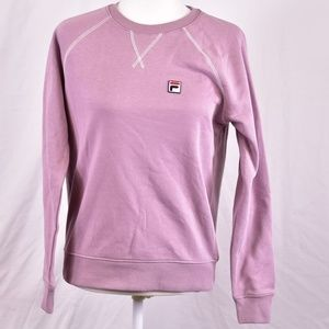 Fila Elie French Terry Crewneck Sweatshirt, Pink